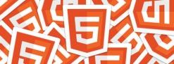 HTML5のステッカーを申し込んでみた。
