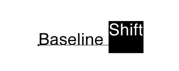 3. ベースライン シフトイメージ図